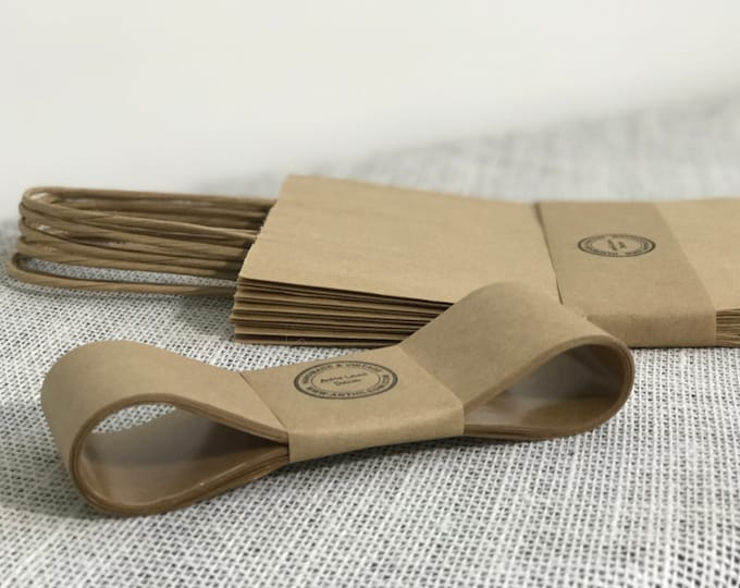 Kraft Paper Tape | 10m Gummed Paper Ribbon | Soap Packaging | Soap Bands | Product Packaging | Belly Bands | Belly Band Paper