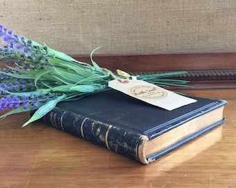 A Book of Common Prayer -  Church of England - Sacraments, Rites Ceremonies - Large Black Leather and Gold - Religious Books