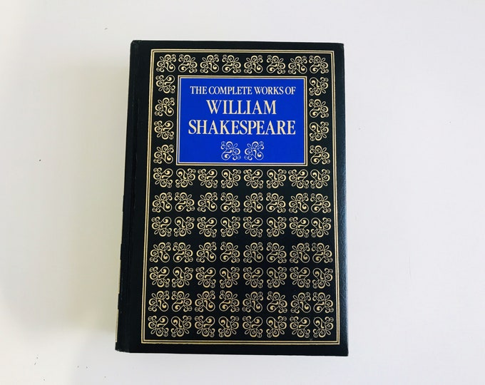 The Complete Works of William Shakespeare | Literary Gifts | Bookish | Classic Literature | Book Lover Gift | Shakespeare Gift