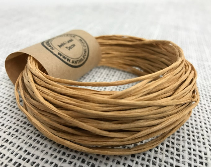 Paper Covered Wire | Rustic Wire | Craft Wire | 10m Craft Wire | Brown Wire | Floristry Wire | Brown Craft Wire | Wire Wrap | Paper Wire