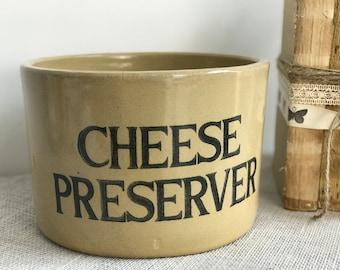 Cheese Preserver | Stoneware Pot | Stoneware Cheese Preserver | Vintage Stoneware | Moira Pottery | Farmhouse Decor | Farmhouse Kitchen