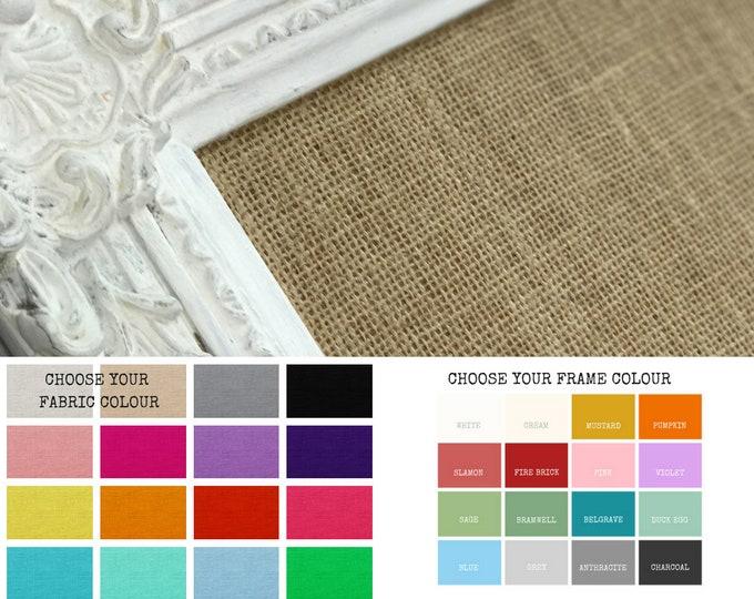 Bulletin Board | White Bulletin Board | Extra Large Bulletin Board | Custom Bulletin Board Made To Order | Wedding Planner
