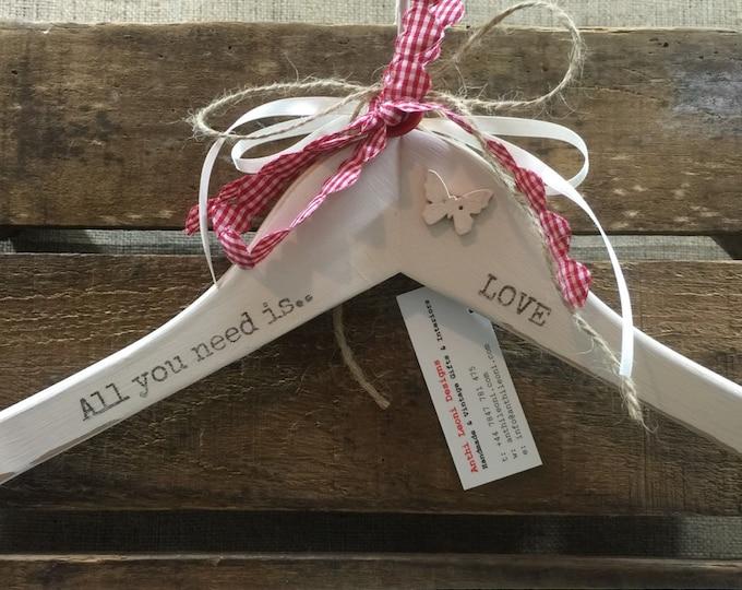 Love Gift | Wedding Gift | Decorative Wedding Hanger | Romantic Gift | Newlyweds Gift | Newlywed Gift | New Home Gift