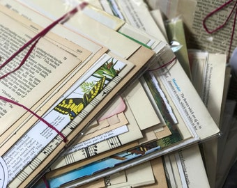 Vintage Craft Papers | Old Book Pages | Dictionary Pages | Old Music Paper | Vintage Book Pages For Crafting Decoupage and Scrapbooking