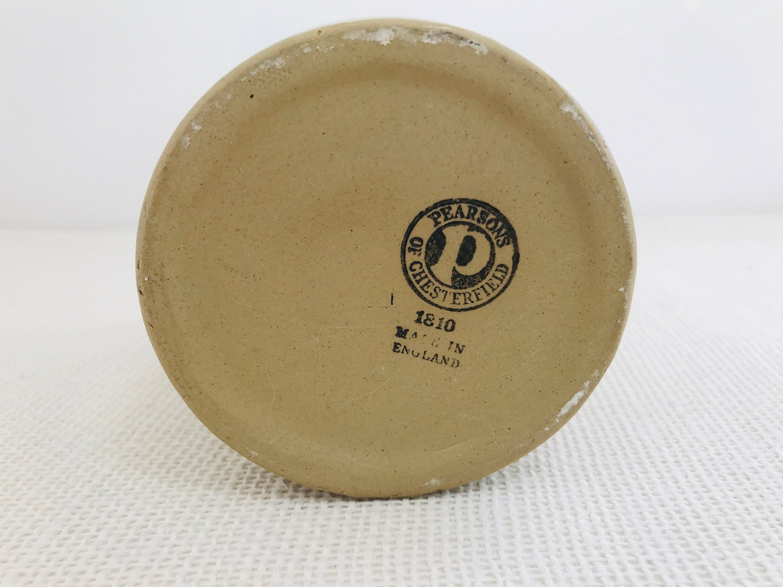 Vintage Skeer Stoneware Jar Vintage Rustic Kitchen Homewares