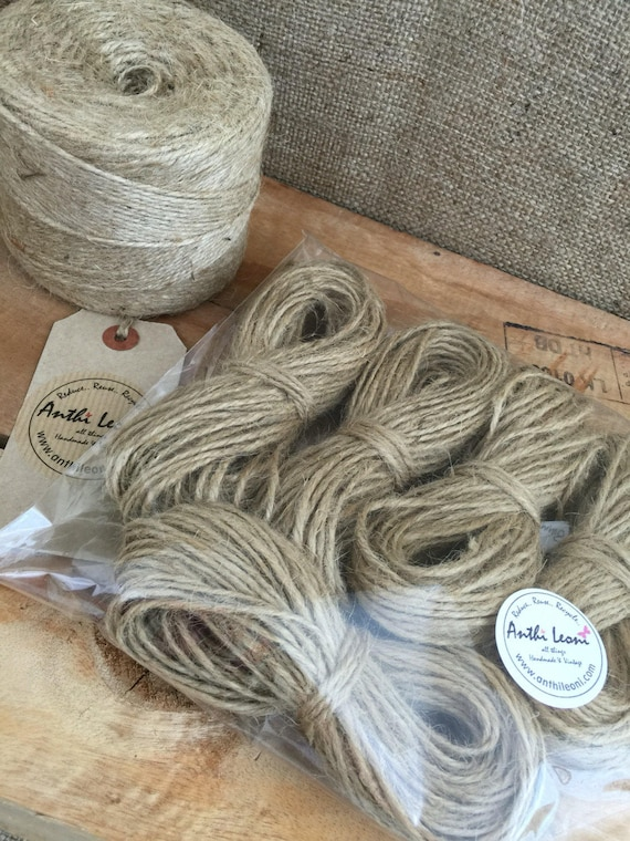 Craft and Gift 5 PLY NATURAL GARDEN STRING UK SELLER Thick Jute Twine