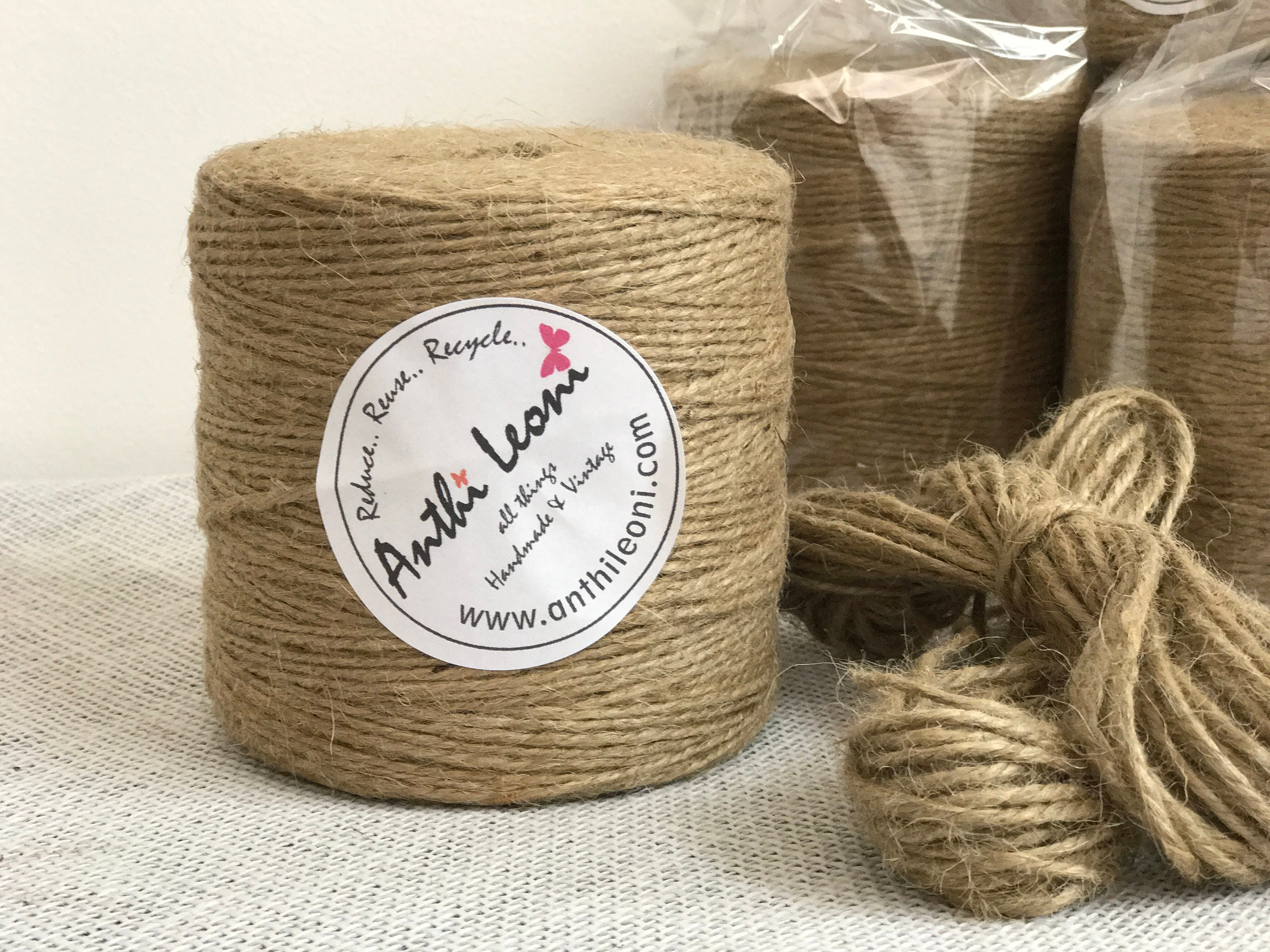 Twine | Twine Roll | 250m Twine | Roll of Twine | Thick String | 3mm