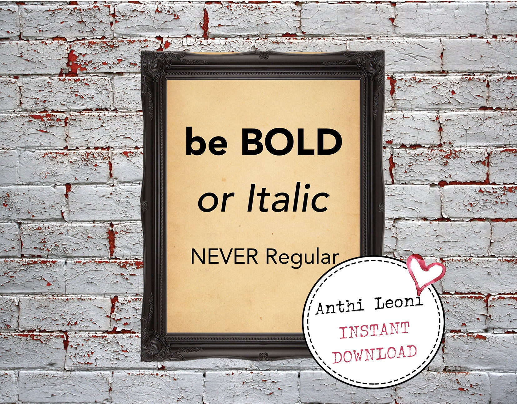 Be Bold Quotes | Be Bold Wall Decor | Dorm Room | Dorm Decor Ideas ...