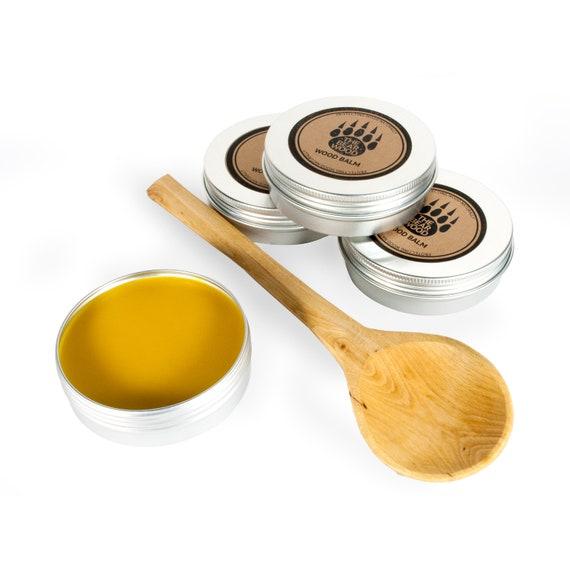 100/% Natural Food Safe Beeswax Wood Finish and Polish