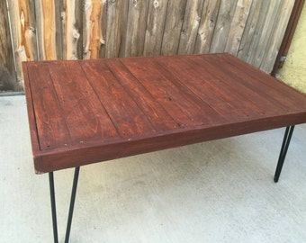 Hennessy Coffee Table Coffee Table  Pallet Wood Reclaimed Hand Crafted Wooden Table Furniture