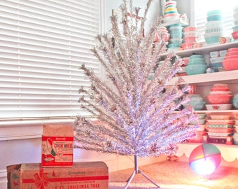 Aluminum Christmas Tree Color Wheel Etsy