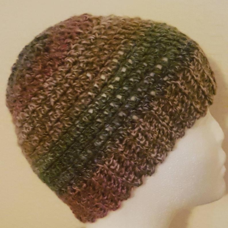 f90858538 Crochet Winter Beanie Hat | Soft Beanie Hat | Multicolour | Winter Knit Hat  | Women's Hat | Warm Beanie | Winter Accessories.