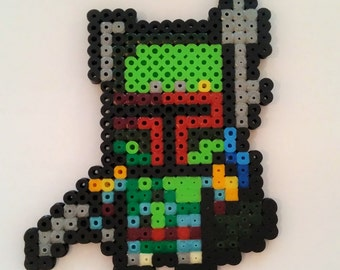 Iron Man Pixel Art Beading Beads Etsy