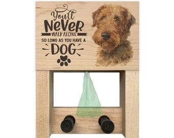 Welsh Terrier 2 Zipper Pouch Welsh Terrier Welsh Terrier Coin Purse Dog Welsh Terrier Eyeglass Case 3 Piece Gift Set