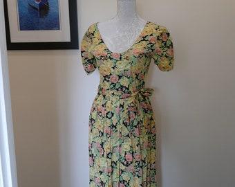85f2e248683 1940s tea dress | Etsy
