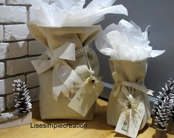 Reusable gift bags, Holiday gift bags, Christmas gift bags, Gift bags, Wedding gift bags, Baby shower gift bags, Birthday gift wrapping