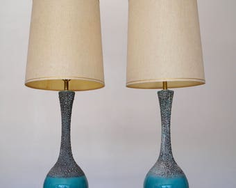 Mid Century Lamps Etsy