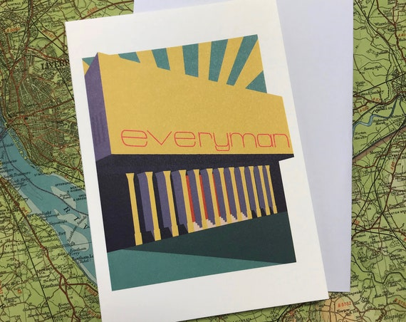 Everyman - theatre - Liverpool - greetings card - the jones boys - thejonesboys - the_jonesboys