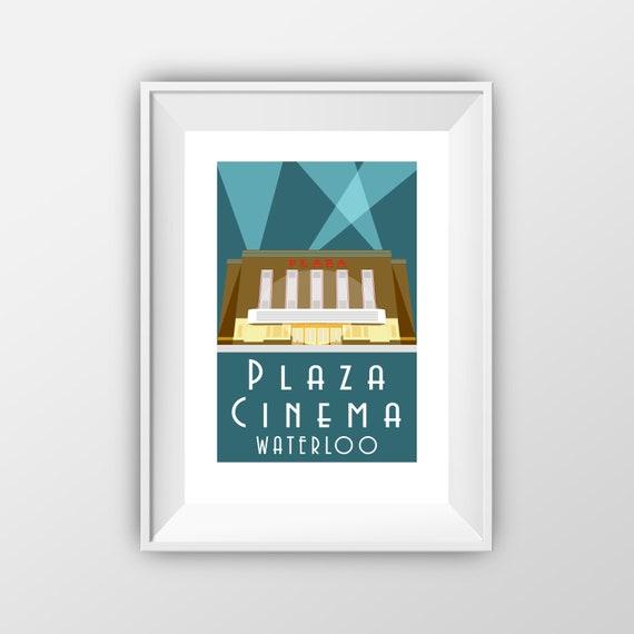 Plaza Cinema Liverpool - Travel Poster - the jones boys