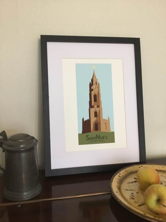 St Nick's - Liverpool - the jones boys - Liverpool prints - Our Lady and Saint Nicholas - church