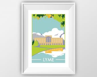 Lyme - Pride and Prejudice - Travel Print - the jones boys