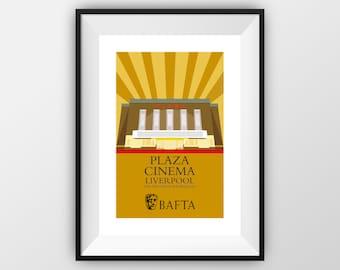 Plaza Cinema BAFTA - Travel Poster - the jones boys