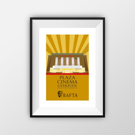 Plaza Cinema BAFTA - Landmarks - Travel Poster - the jones boys