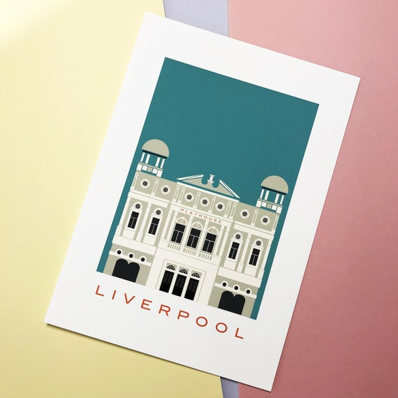 Play house - Liverpool - theatre - thejonesboys - Liverpool prints - Neo classical