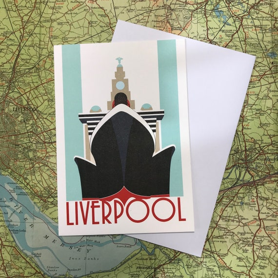 Three Queens - Mersey - Cunard - Liver building - Liverpool - greetings card - travel - the jones boys - thejonesboys - the_jonesboys
