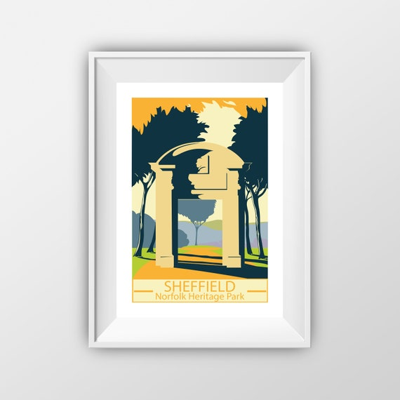 Sheffieled Norfolk Heritage Park - Sheffield - Travel Print - The Jones Boys
