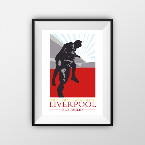 Bob Paisley - LFC - Travel Poster - the jones boys