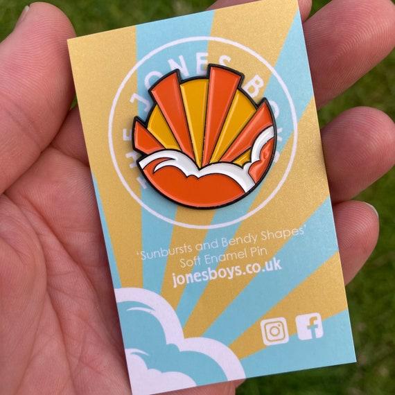 Sunburst Pin badge - the jones boys