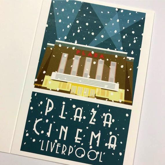 Plaza Cinema - Winter Edition - Liverpool - the jones boys -  thejonesboys - Liverpool prints - Crosby - Waterloo