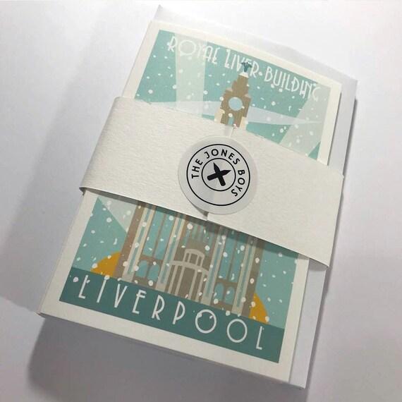 Liverpool Christmas cards - Winter Edition - the jones boys -  thejonesboys - Liverpool prints
