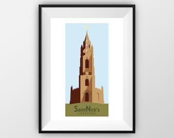 St Nicks - Travel Poster - the jones boys