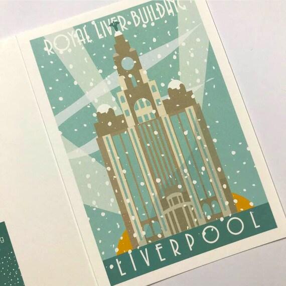 Royal Liver Building - Winter Edition - Liverpool - the jones boys -  thejonesboys - Liverpool prints