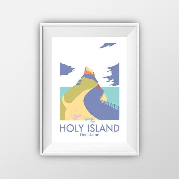 Holy Island - Lindisfarne - Travel Print - the jones boys