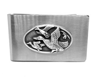Duck Hunting Money Clip