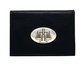 Legal Scales Business Card Case