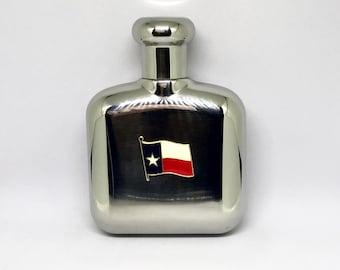 Texas Flag Flask – Color