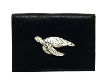 Sea Turtle Business Card Case
