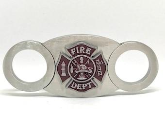 Fireman Cigar Cutter - Red