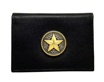 Texas Star Business Card Case