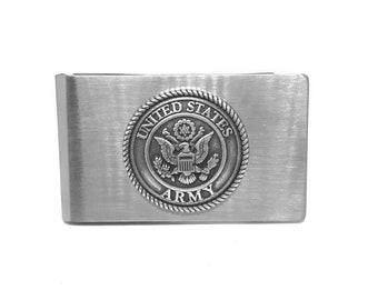 Army Money Clip – Metallic