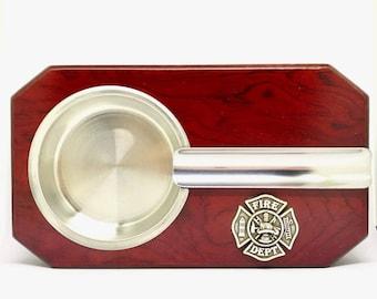 Fireman's Cross Cigar Ashtray – Metallic