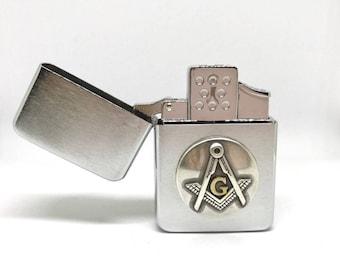 Mason Pocket Lighter – Metallic