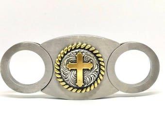 Western Cross Cigar Cutter