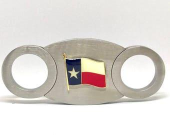 Texas Flag Cigar Cutter