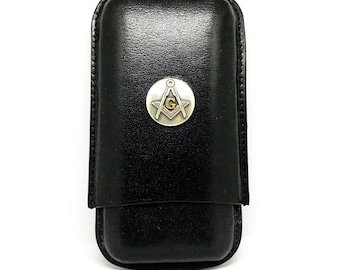 Mason Cigar Case – Metallic