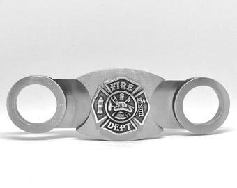 Fireman Cigar Cutter – Metallic